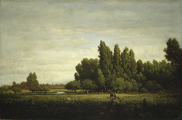 Mus e des peintres de barbizon la p pini re for Barbizon peintre