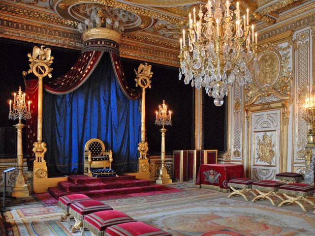 Troonzaal - Kasteel van Fontainebleau - Bezoek - Napoleon